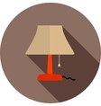 Table Lamp vector image