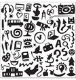 Education - icons set vector image vector image