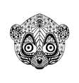 Zentangle stylized lemur Sketch for tattoo or t vector image