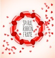 Round circle symbol frame of vector image vector image
