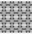 Background vintage flower Seamless floral pattern vector image