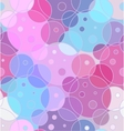 Abstract seamless background of circles vector image
