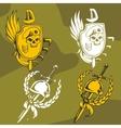 Military Emblem - Set vector image