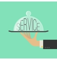 Service Concept Flat Style vector image