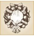 Christmas hand drawn - vector image vector image