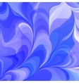 Abstract Blue Flowers vector image vector image