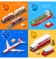 Logistic Icon 01 Vehicle Isometric vector image