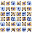 Seamless Watercolor Geometric Pattern vector image