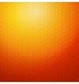 Geometric orange background for design EPS10 vector image