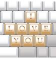 Keyboard vector image