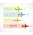 Set of infographic banners vector image vector image