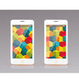 Perfectly detailed modern smart phone mobile vector image vector image