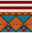 American indian pattern vector image