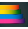 Colorful Sample stripes for various options vector image vector image