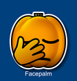 Facepalm vector image