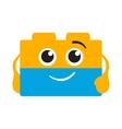 Bricks logo vector image