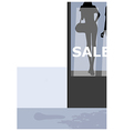 Fashion Boutique Background vector image vector image