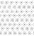 floral design doodle whit vector image