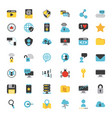 icons set computing vector image