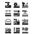 Crop growing and harvesting of agricultural produc vector image