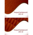 parquet wooden patterns vector image vector image