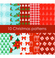 set of 10 bright and fun vector image