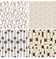 set of abstract textures vector image vector image