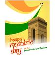 republic day vector image