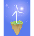 earth wind vector image
