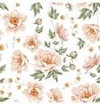 Flower samless pattern vector image