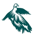 Eagle stylized symbol vector image