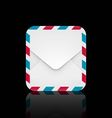 Air mail envelope icon vector image vector image