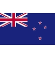New Zealand flag image vector image