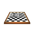 checkers game in black and white design vector image