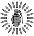 military sun vector image