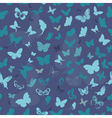 butterfly seamless2 vector image