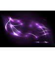 energy flow background vector image vector image