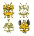 Military Emblem - Set vector image vector image