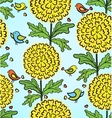 Decorative colorful funny seamless pattern vector image