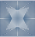 optical art background with 3d deformed vector image