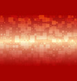 orange red beige glowing various tiles background vector image