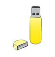 USB vector image