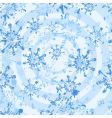 white grunge snowflakes seamless vector image
