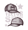 cap set isolated on white vector image