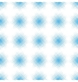 Seamless halftone raster pattern vector image