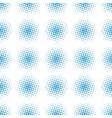 Seamless halftone raster pattern vector image
