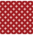 Christmas seamless pattern from snowflakes on blue vector image vector image