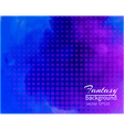 Water color blue-purple background vector image