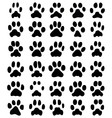 print of cats paws vector image