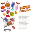 Super Discount Design vector image